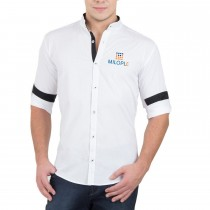 Men's Plain White Shirt